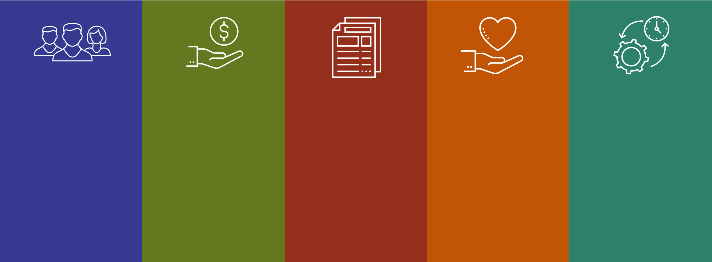 pitt worx icons and colors for system modules