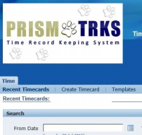 PRISM TRKS website photo