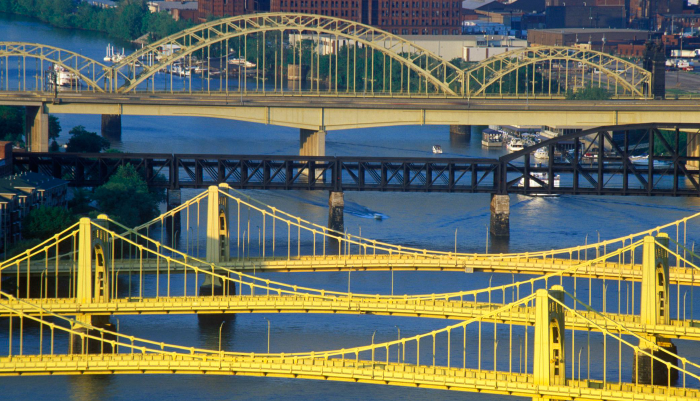 bridges in pittsburgh photo