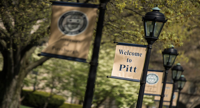 Welcome to Pitt banner image