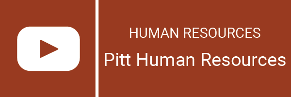 pitt human resources youtube